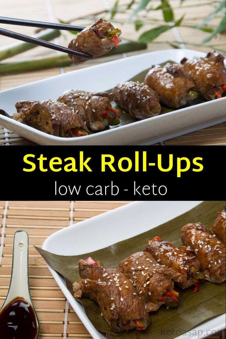 keto beef roll ups low carb recipe