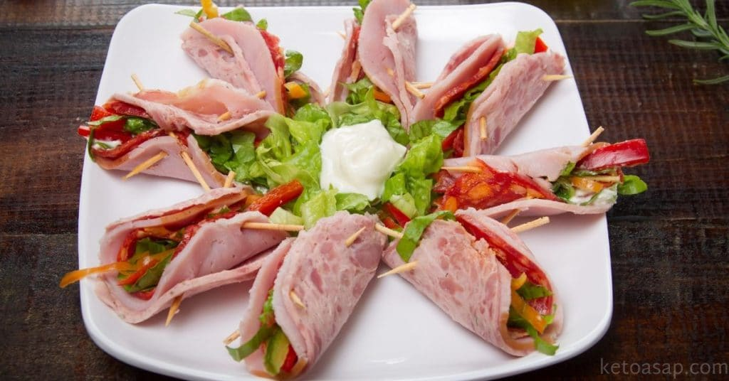 lunch meat roll ups