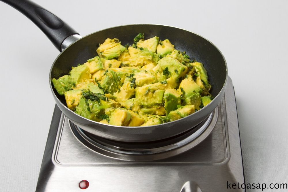 add avocado lime chicken stock