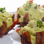 Keto Avocado Chicken Bacon Baskets