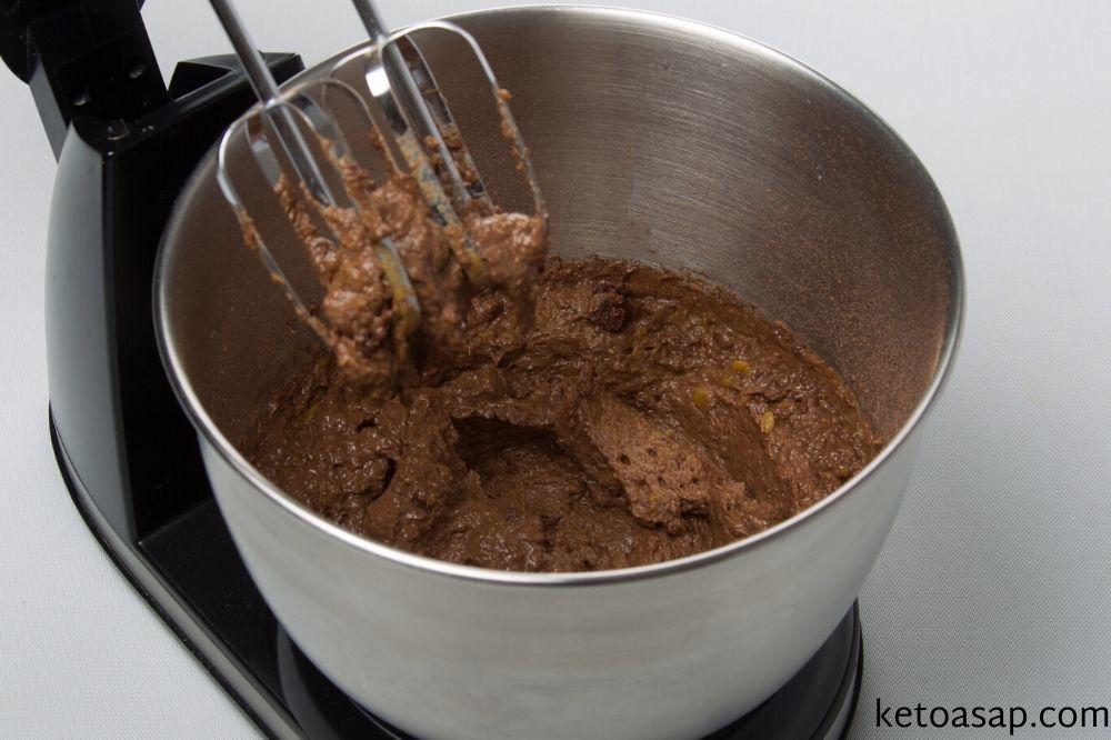 beat all ingredients pumpkin brownies