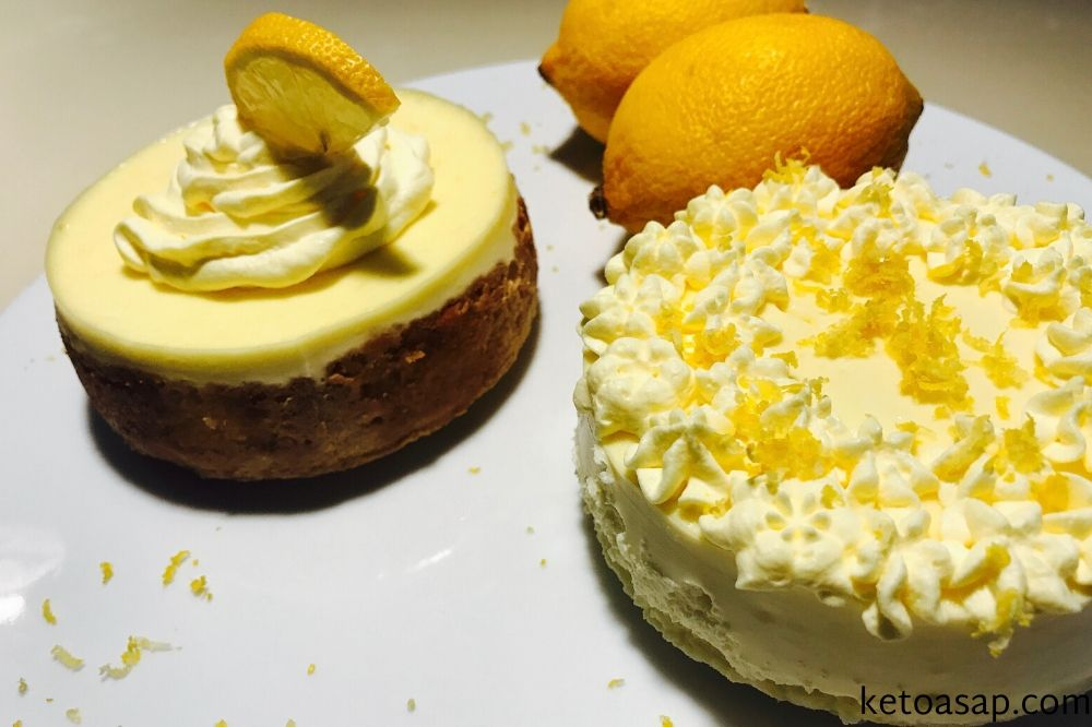 deocorate lemon cheesecake