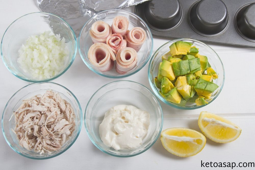 ingredients bacon baskets