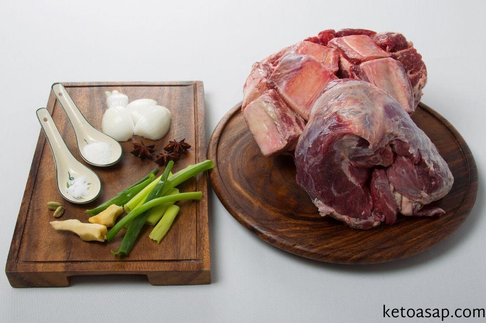 ingredients beef pho