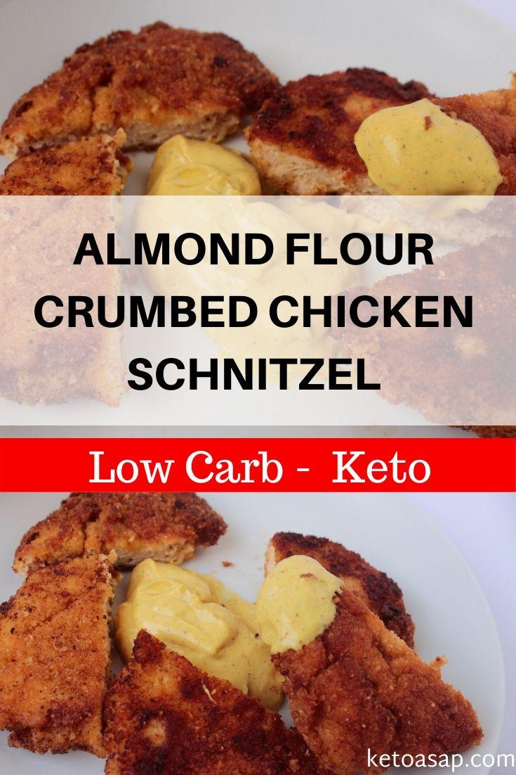 keto almond flour chicken schnitzel