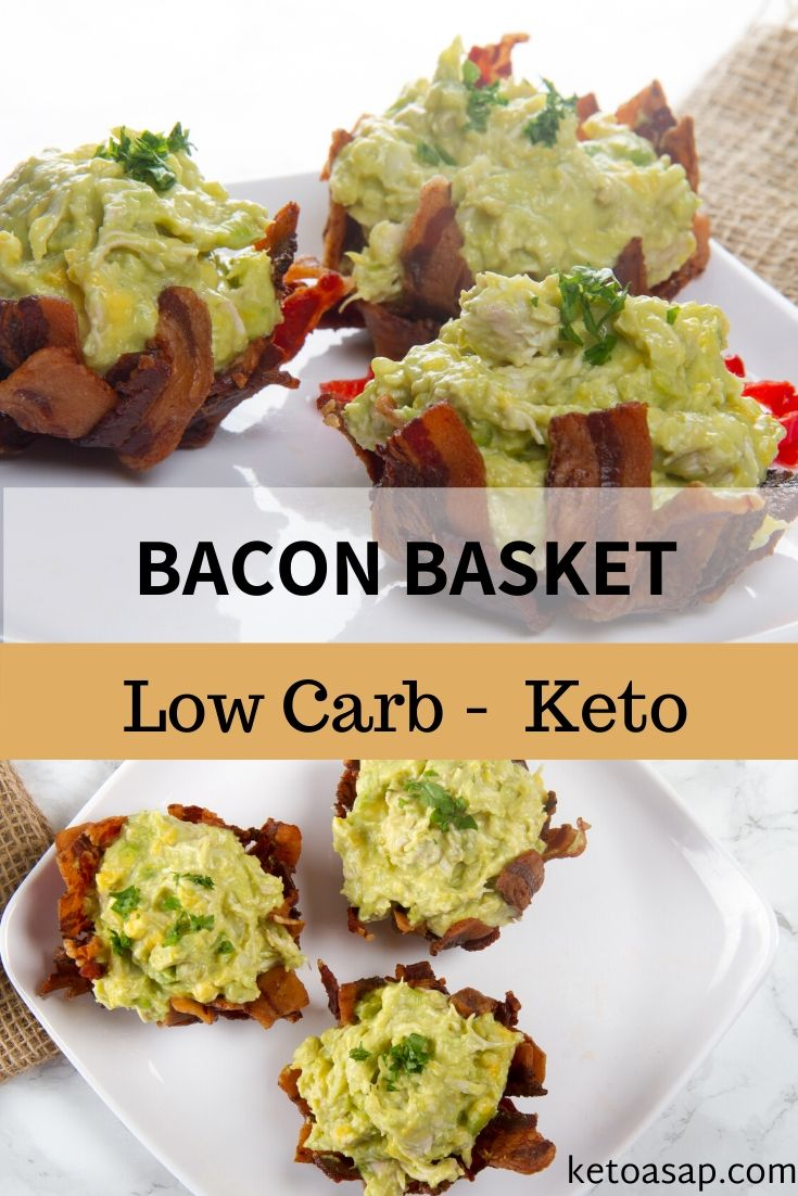 Although this keto, low carb recipe could be a little labour intensive but it's absolutely delicious and will definitely impress your guests. Here's how. #ketobaconrecipes #lowcarbbaconrecipe #ketobaconavocado #ketorecipe #ketorecipeideas #ketoideas #lowcarbrecipes #lowcarbketomeals #easyketomeals #simpleketorecipes