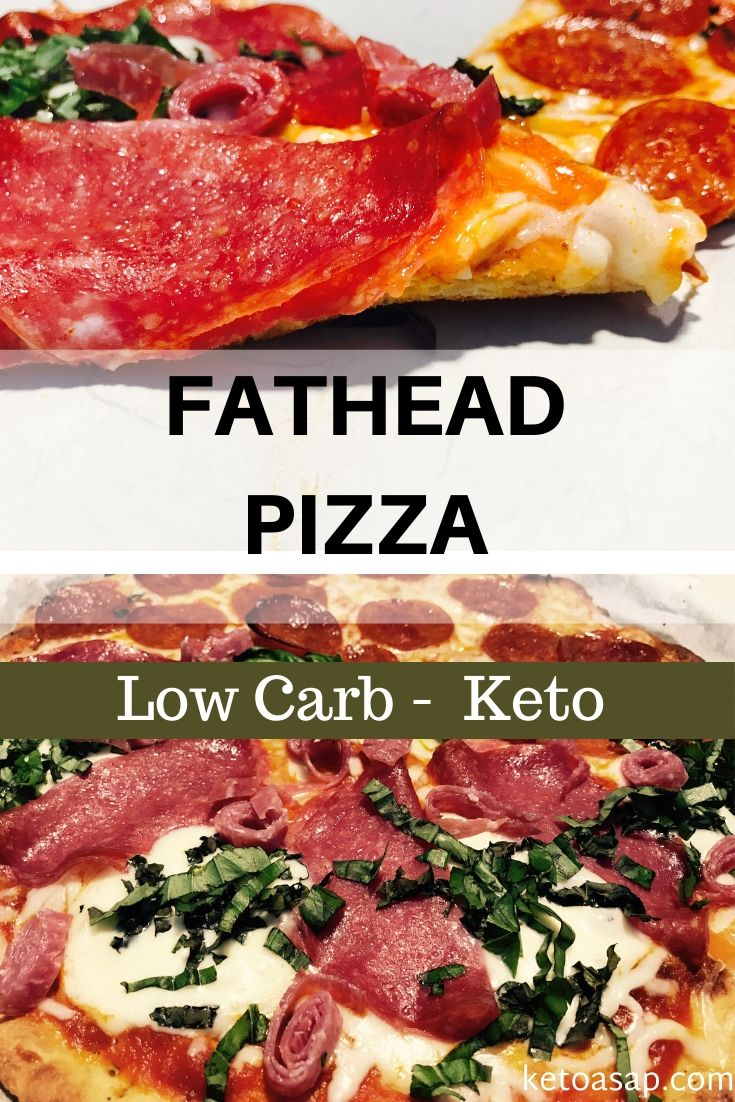 Keto Fat Head Pizza