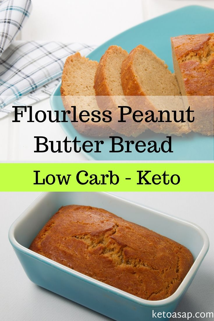 keto flourless peanut butter bread