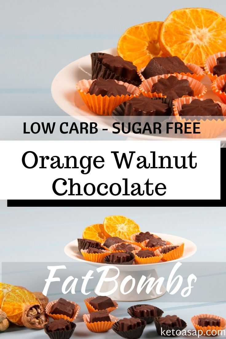 keto orange walnut fat bombs