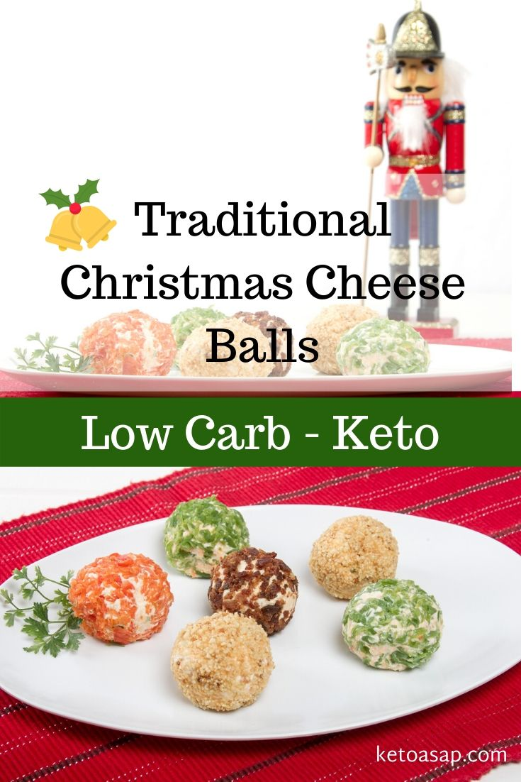 Keto Cheese Balls Recipe for Christmas Appetizer