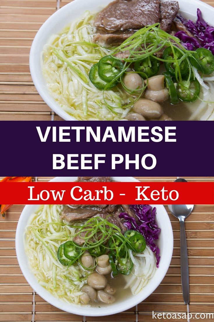 keto vietnamese beef pho