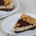 low carb brownie chocolate cheesecake