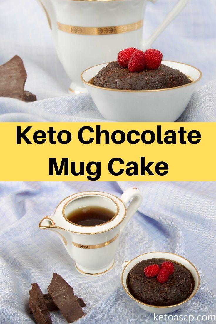 low carb chocolate mug cake