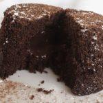 low carb lava cake