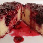 serve mini blackberry cheesecake