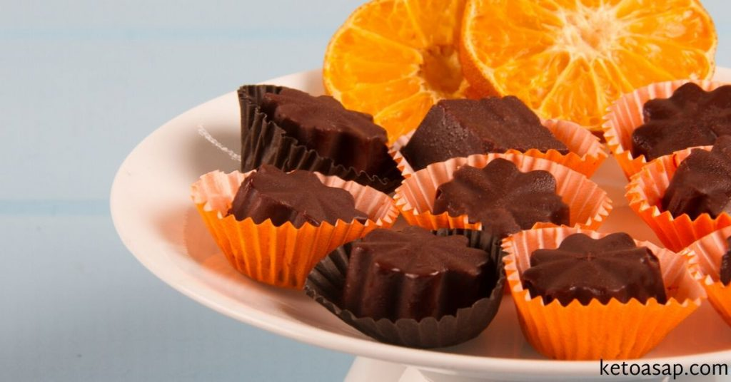 orange walnut chocolate fat bombs