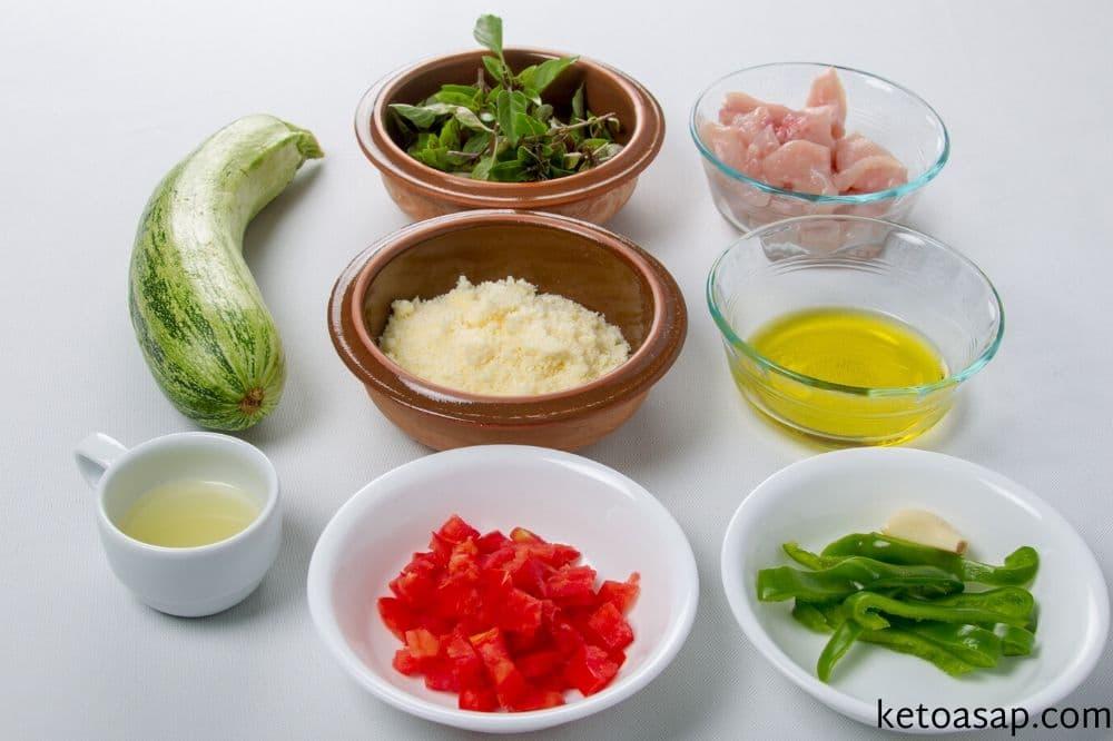 prepare zucchini pasta sauce