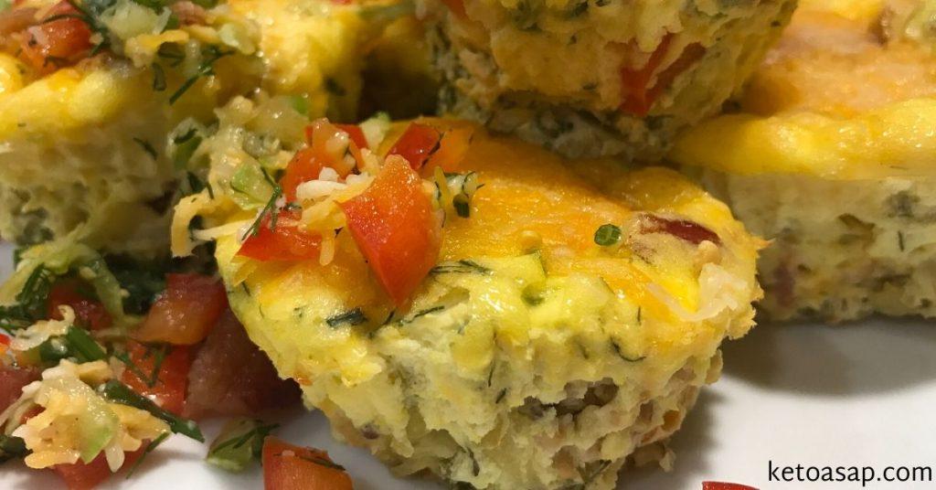 zucchini breakfast muffin