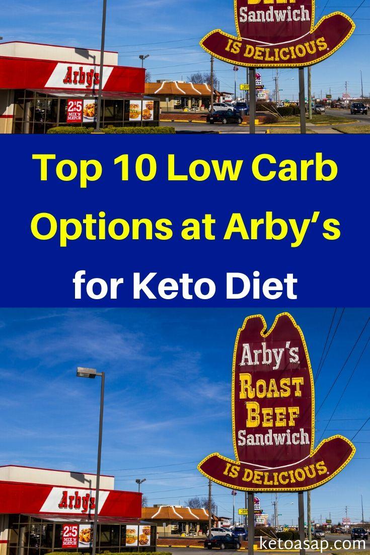 Top 10 Low Carb Options at Arby's for Keto Diet #ArbysKeto #KetoArbys #ketorestaurants #lowcarbrestaurants #ketodiet #lowcarbdiet #keto - Photo by jetcityimage2 – depositphotos
