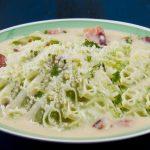 carbonara zucchini noodles