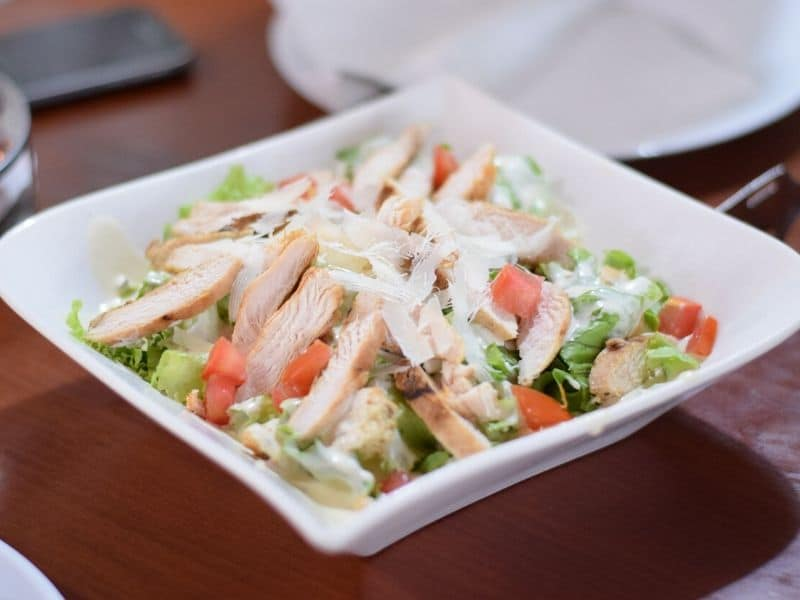 wendy's chicken salad