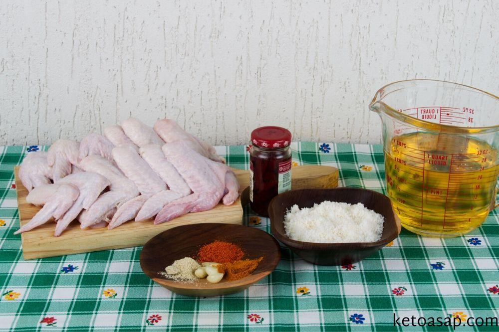 chicken wings ingredients