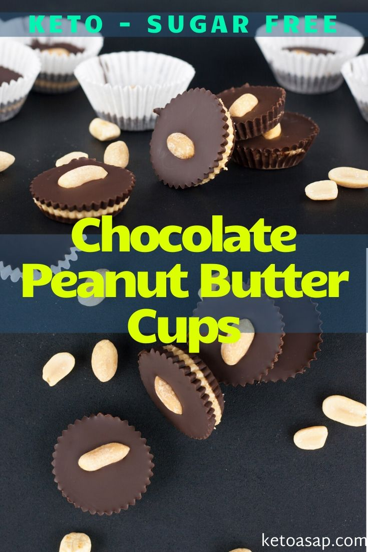 keto chocolate peanut butter cups