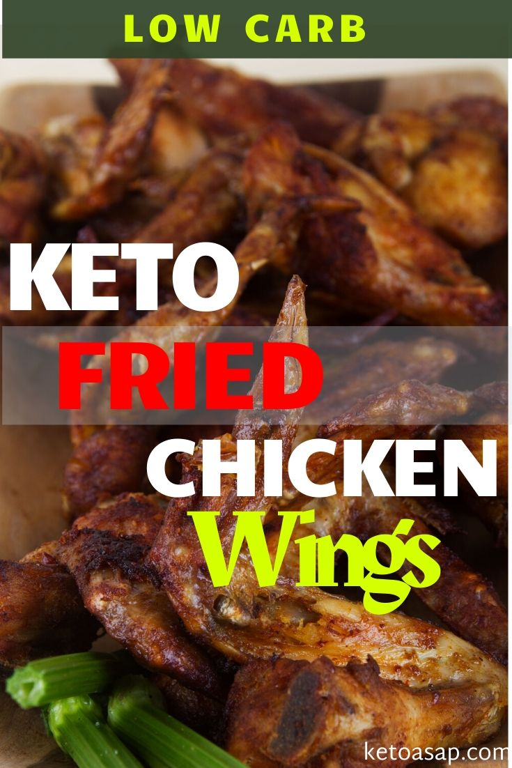 keto fried chicken wings