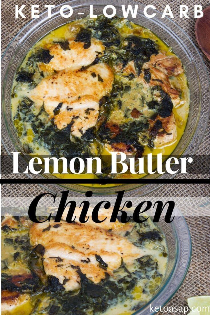 keto lemon butter chicken