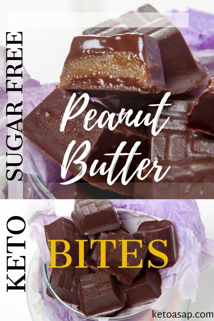 keto peanut butter bites