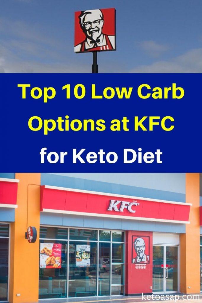 kfc low carb options