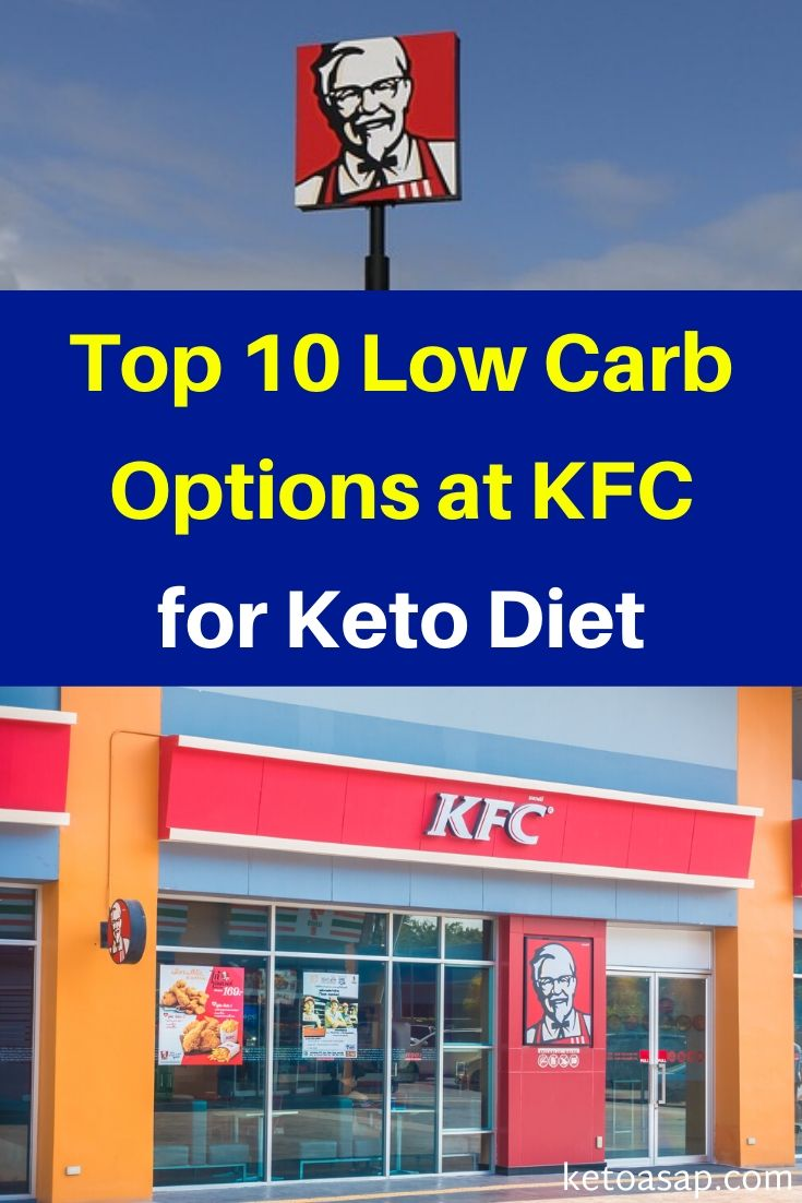 Top 10 Low Carb Options at KFC for Keto Diet