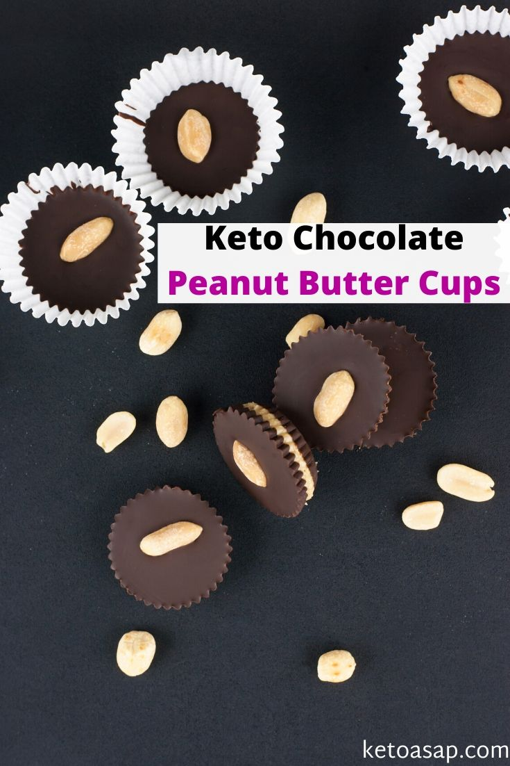 low carb chocolate peanut butter cups