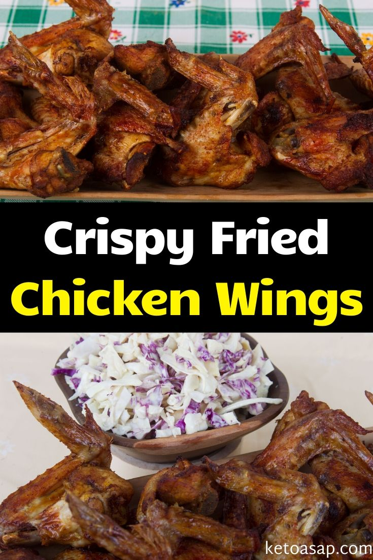 low carb deep fried chicken wings