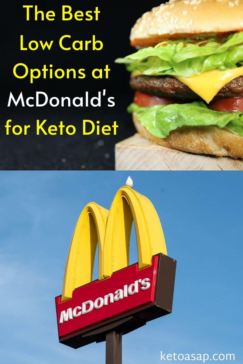 Top 10 Low Carb Options at McDonald\'s for Keto Diet