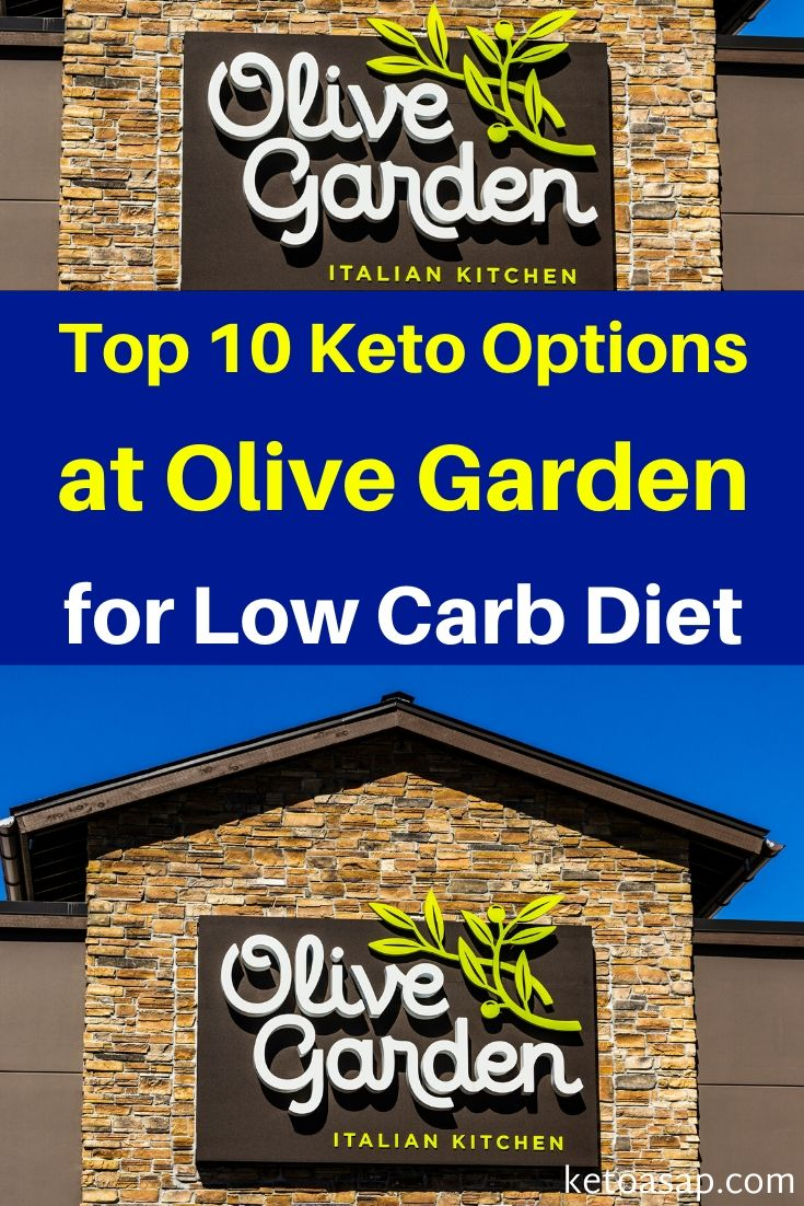 Top 10 Low Carb Options at Olive Garden For Keto Diet