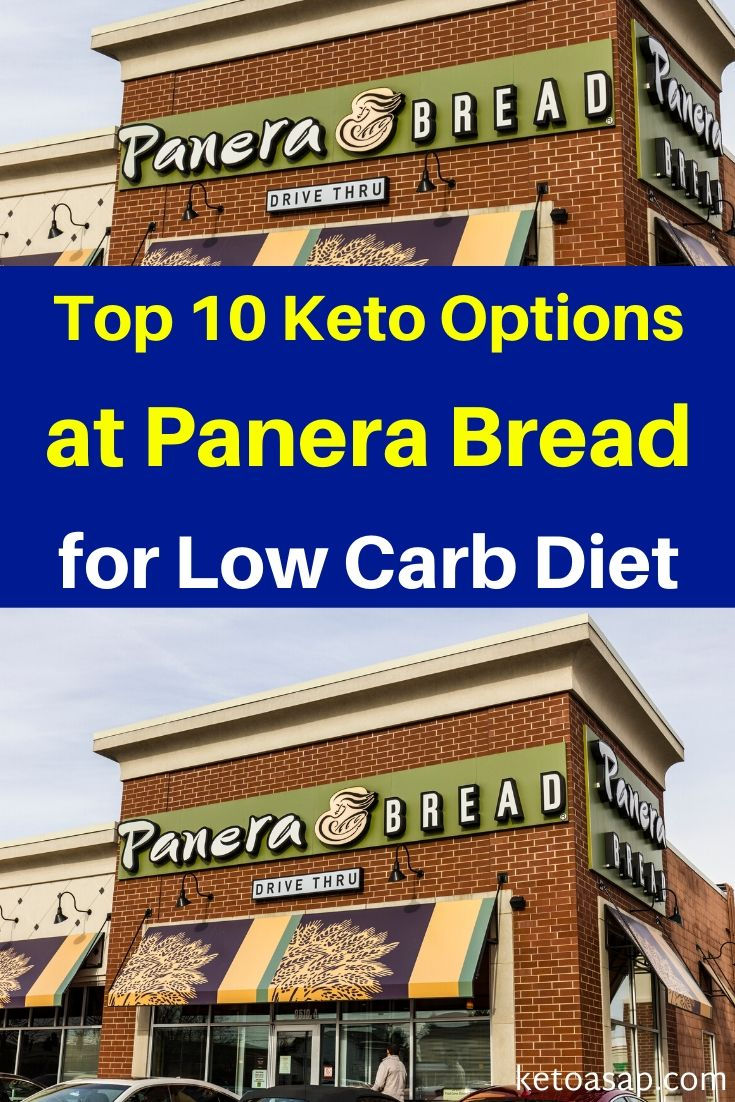 Top 10 Low Carb Options at Panera Bread For Keto Diet