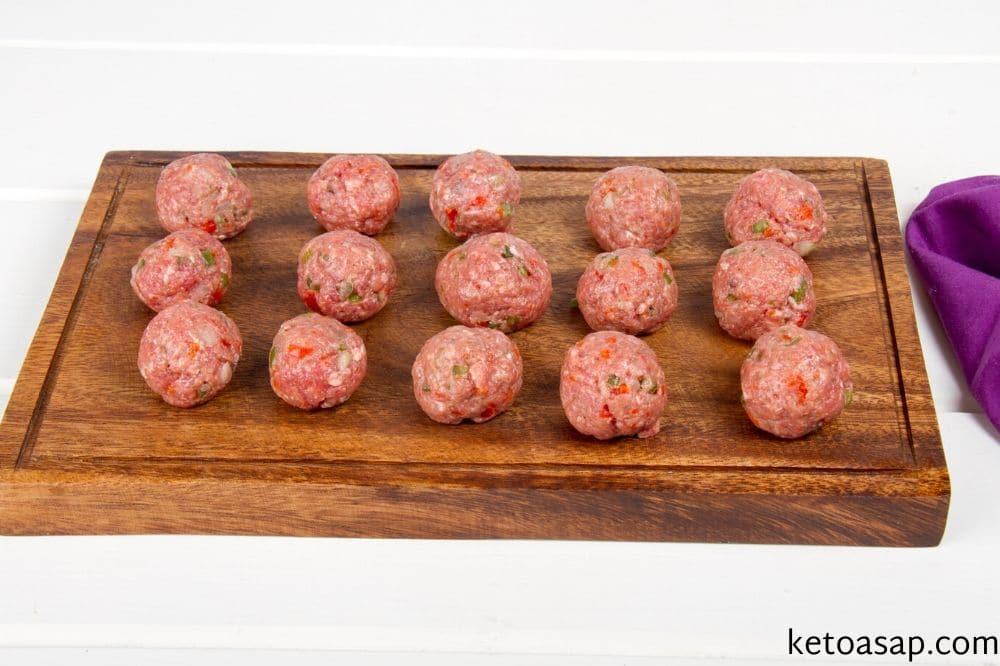 make meatballs bacon bites