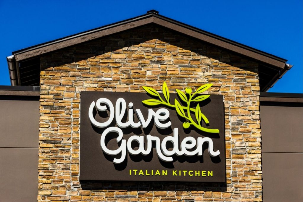 olive garden keto options