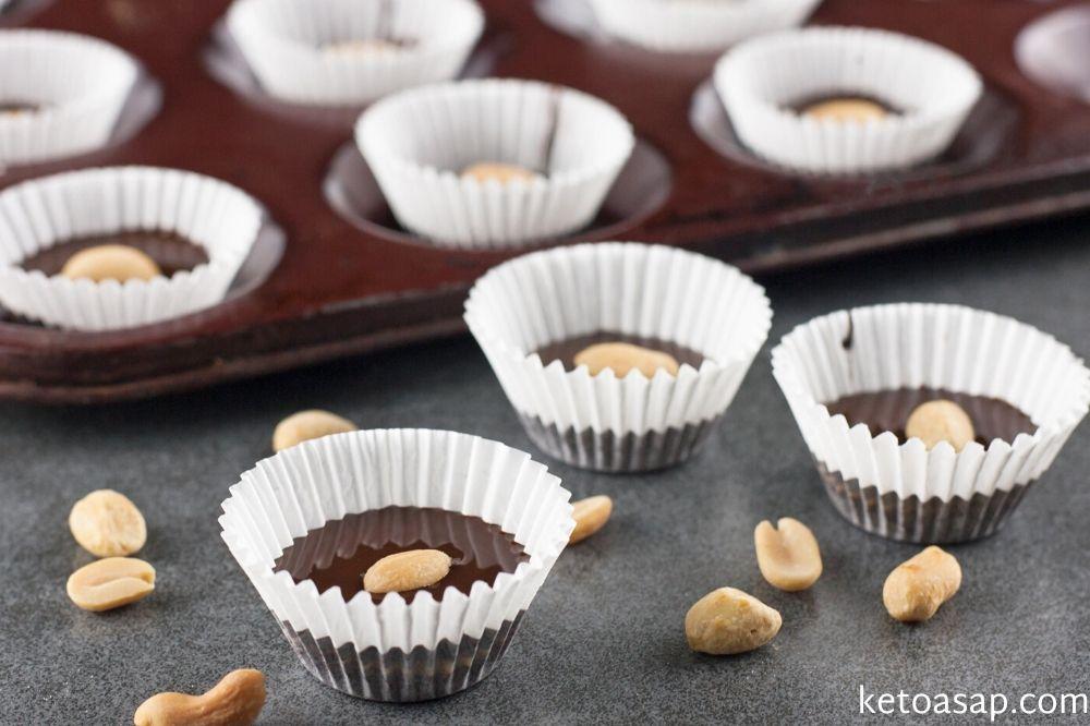 serve chocolate peanut butter cups