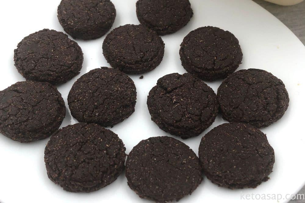 bake oreo cookies