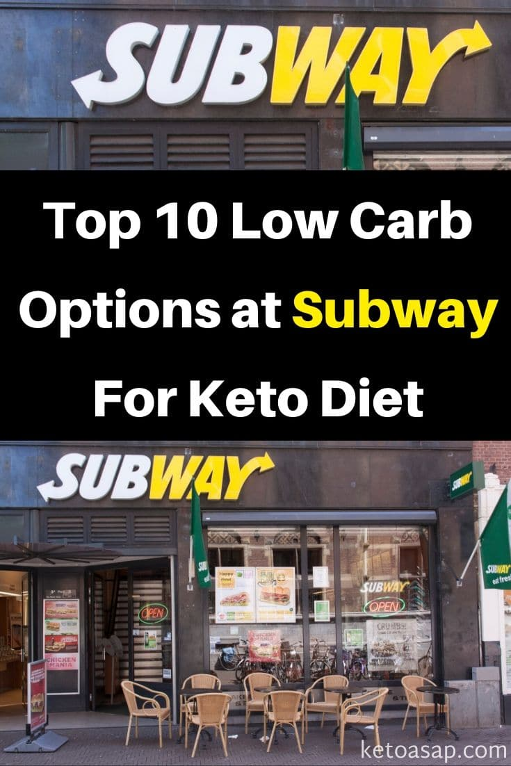 Here Are The Top 10 Low Carb Options at Subway For Keto Diet #subwayketo #ketosubway #lowcarbsubway #ketorestaurants #lowcarbrestaurants #ketodiet #lowcarbdiet Photo by Joeppoulssen/depositphotos