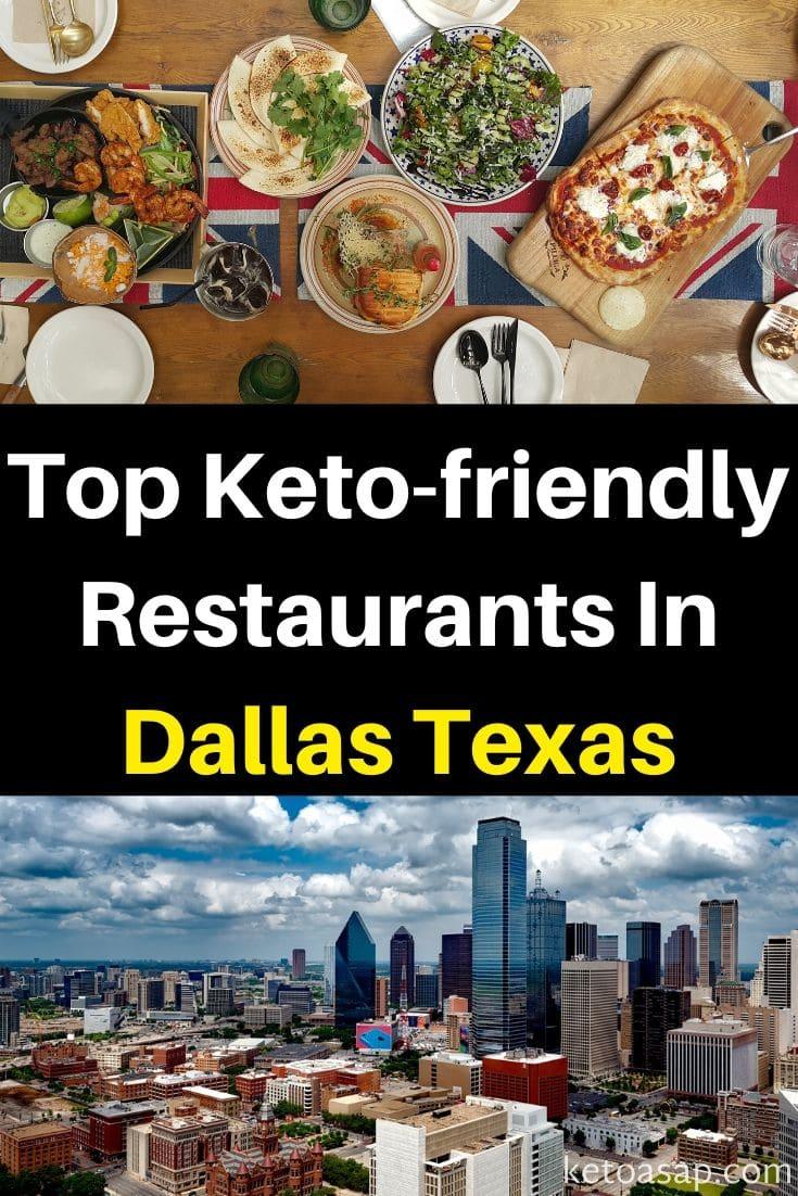 keto diet restaurant guide dallas