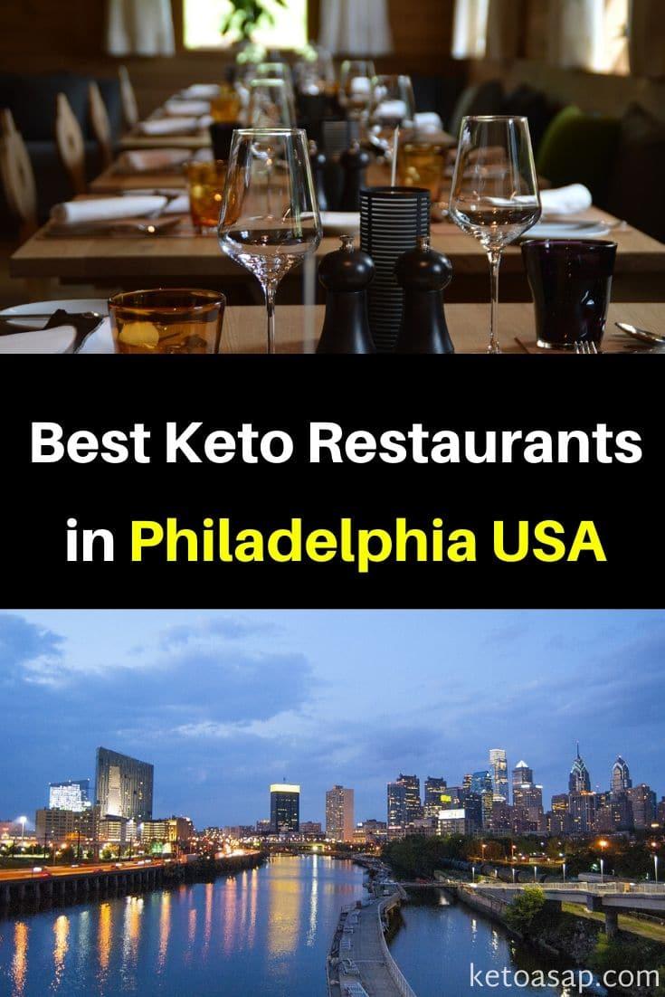 Top 11 Restaurants in Philadelphia That Offer Low Carb Meals #ketoPhiladelphia #Philadelphia #PhiladelphiaRestaurants #ktorestaurants #lowcarbrestaurants #etodiet #lowcarbdiet