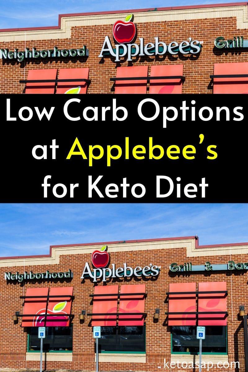 Top 10 Low Carb Options at Applebee's For Keto Diet #ketofastfood #ketorestaurants #lowcarbrestaurants #ketodiet #lowcarbdiet #Applebees