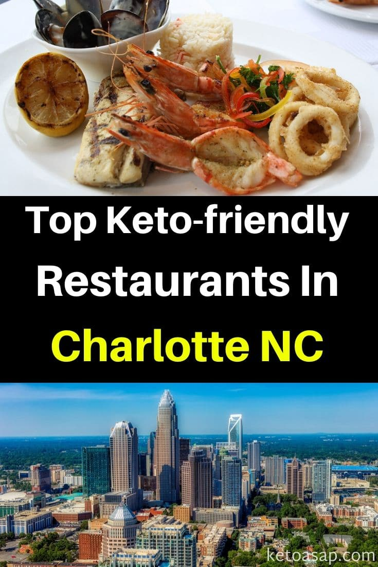 Top 8 Keto Restaurants In Charlotte, NC That Offer Low Carb Dishes You Can Order #KetoCharlotte #lowcarbCharlotte #Charlotte #CharlotteRestaurants #ketorestaurants #lowcarbrestaurants #ketofastfood