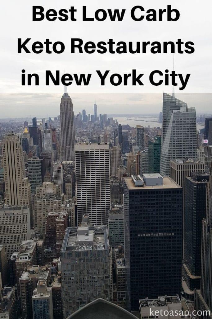 low carb new york restaurants