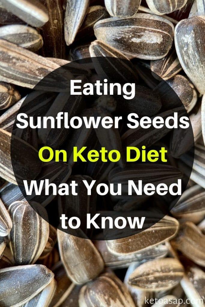 sunflower seeds keto