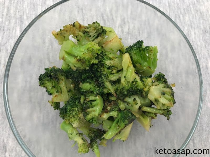 fry broccoli butter