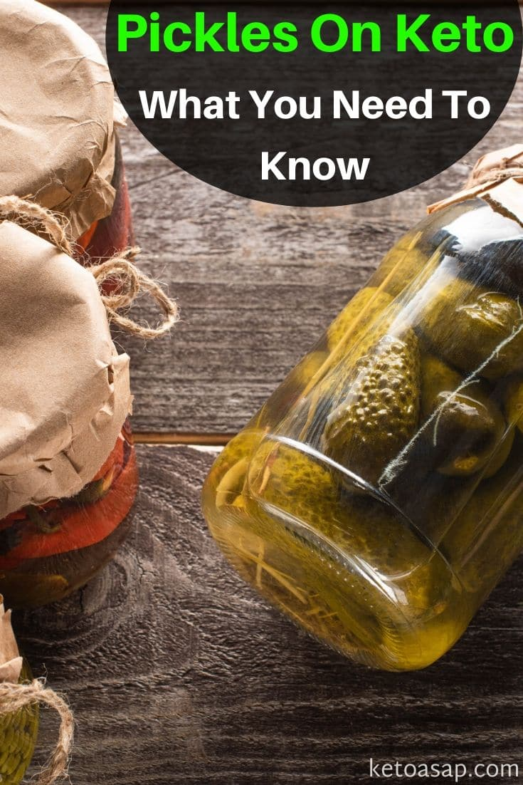 Pickles On The Keto Diet: What You Need To Know